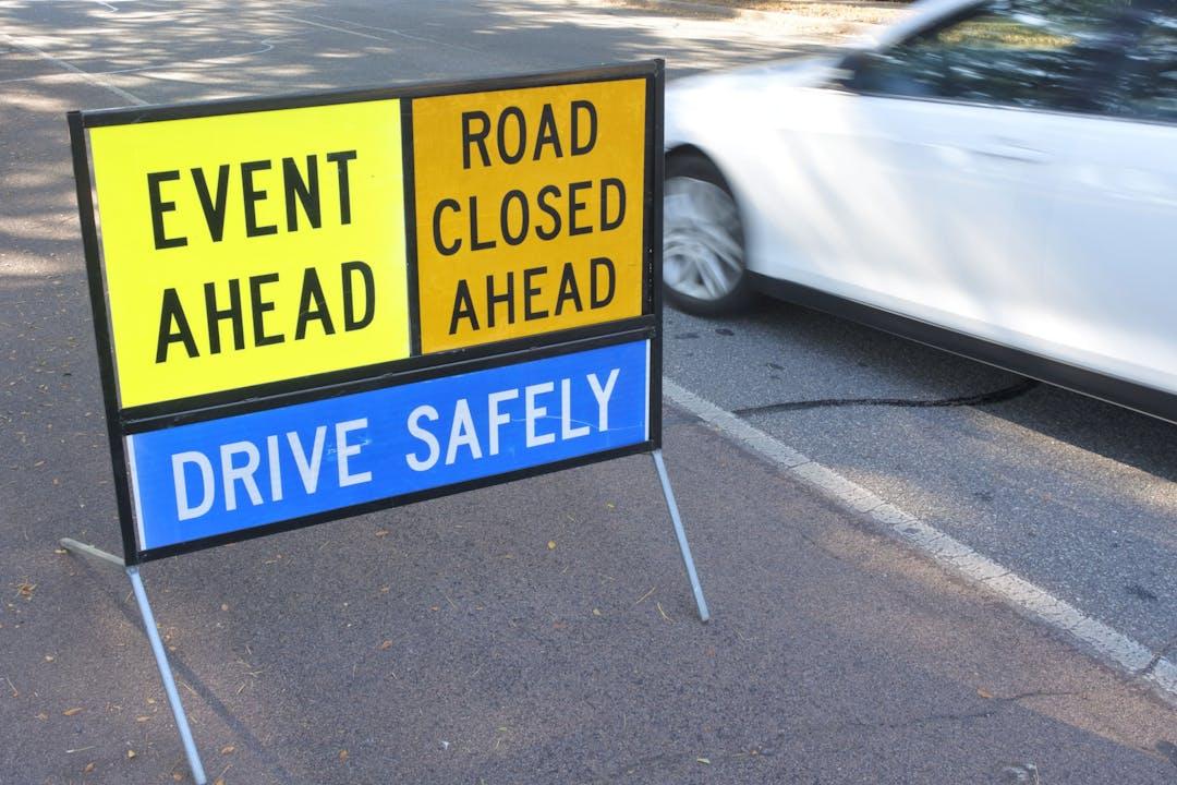 Event road closure