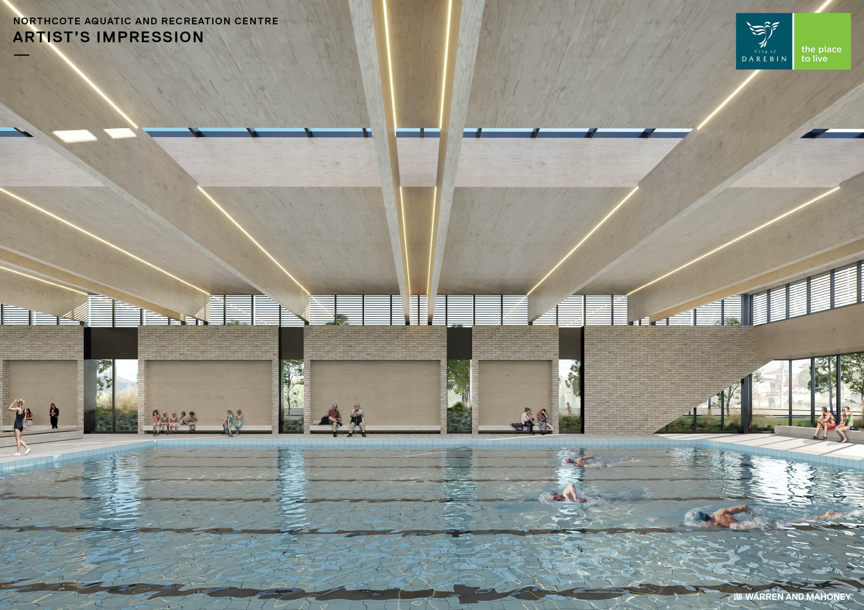 Indoor 25m pool hall