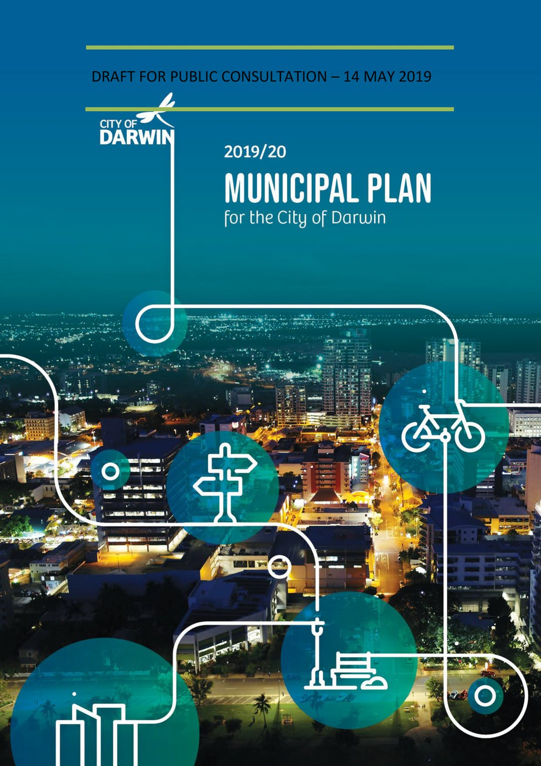 2019/20 Draft Municipal Plan front cover