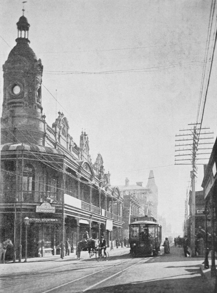 Hay St looking west - 1903 - 04