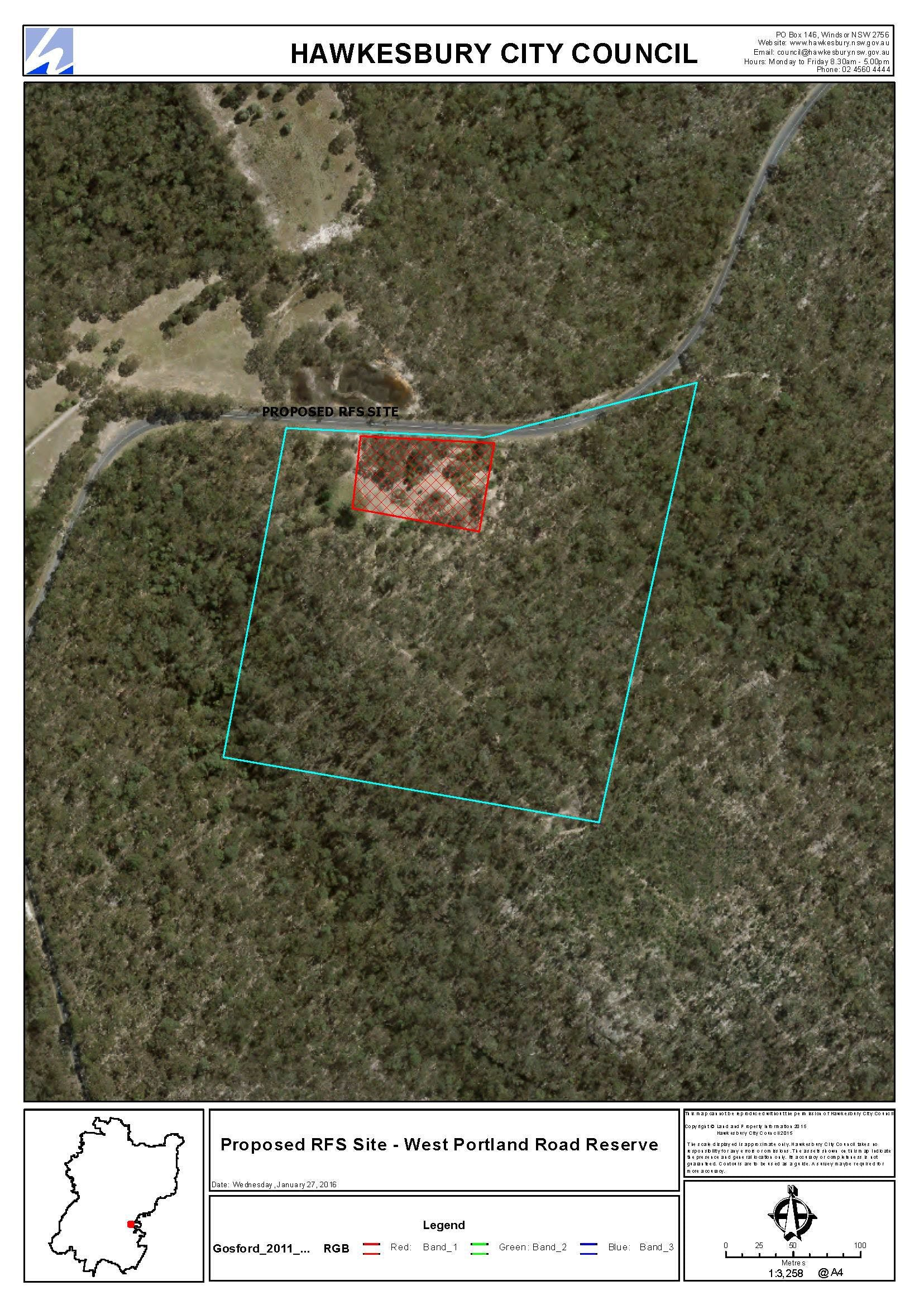 Rfs Fire Station   Proposed Site