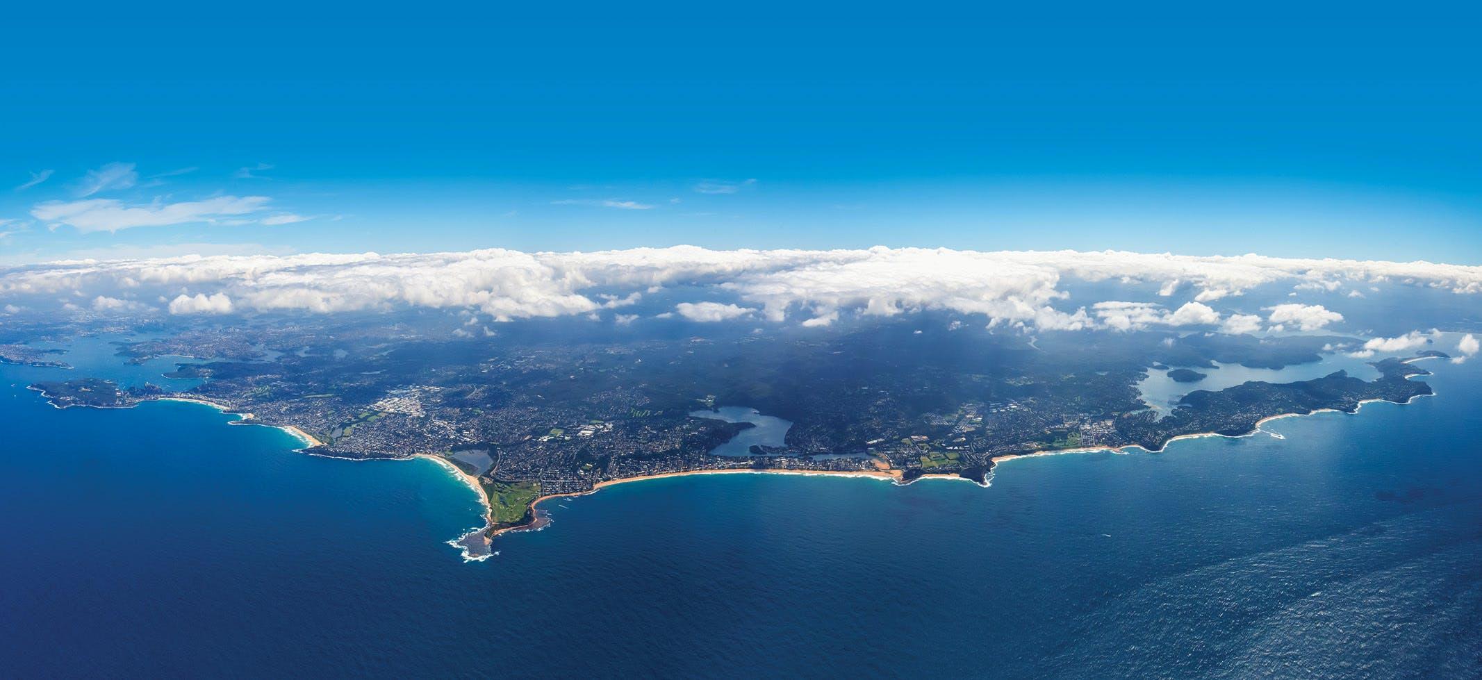 Northern beaches aerial webtile