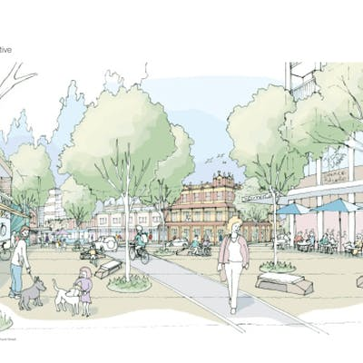 East Chatswood Sketch Perspectivejpg