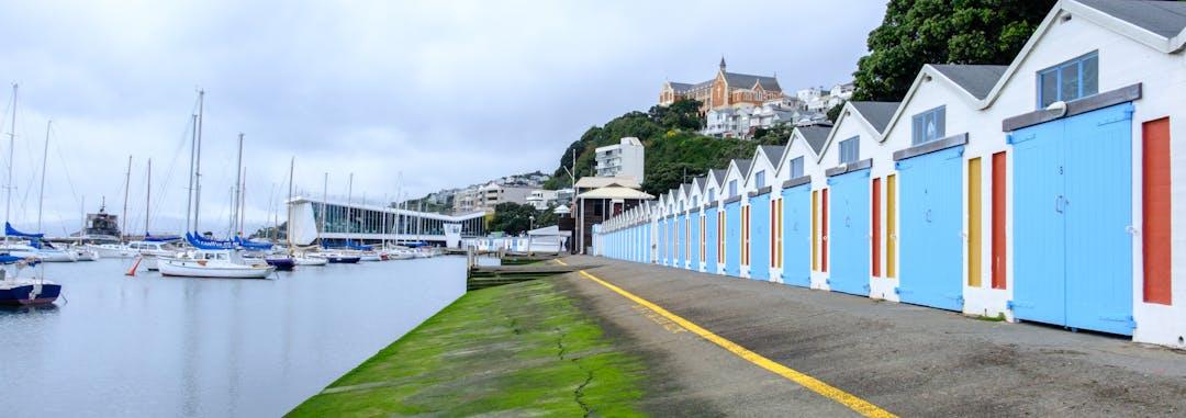 Wellington boat sheds