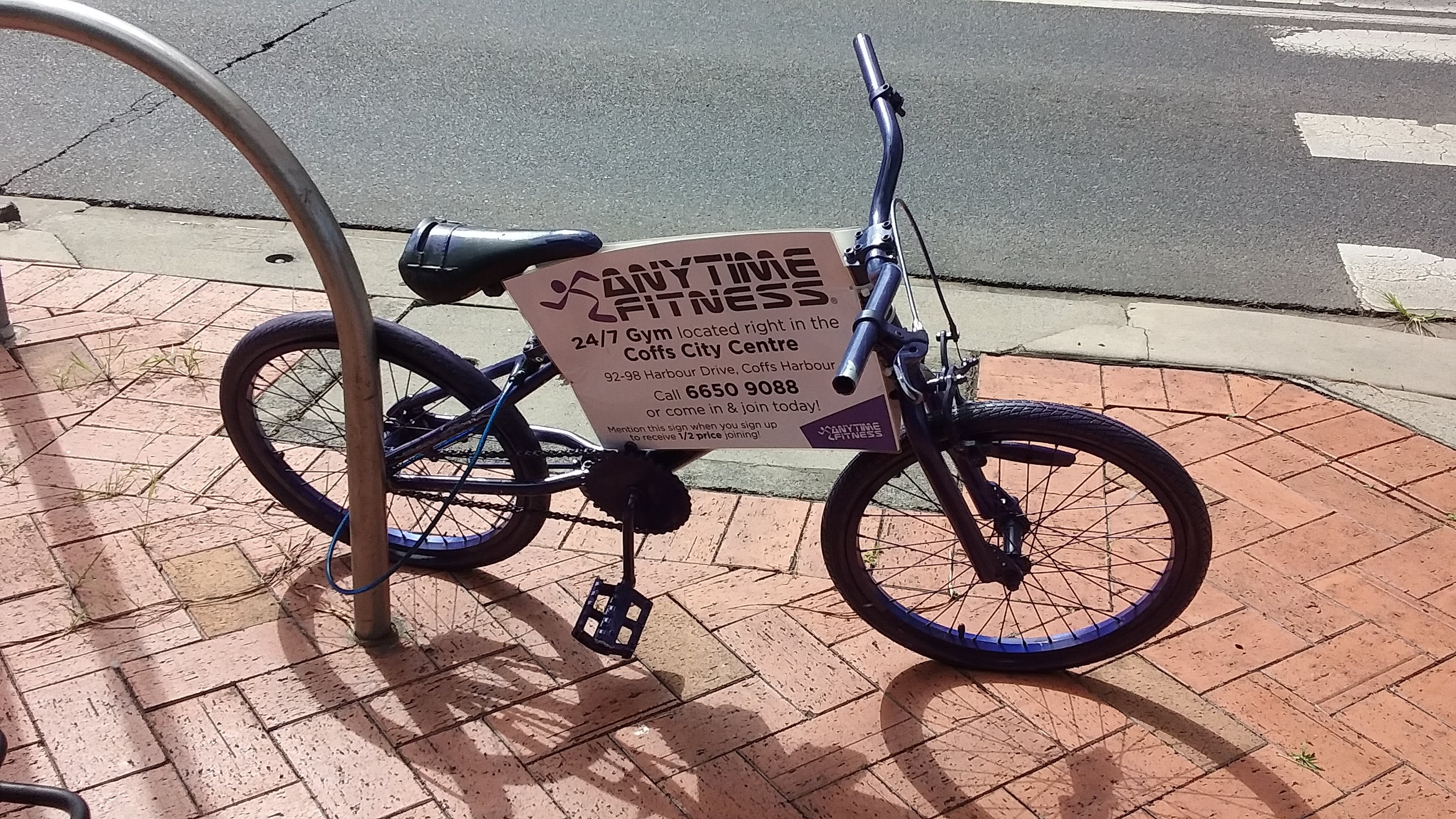 Anytime Fitness Bike