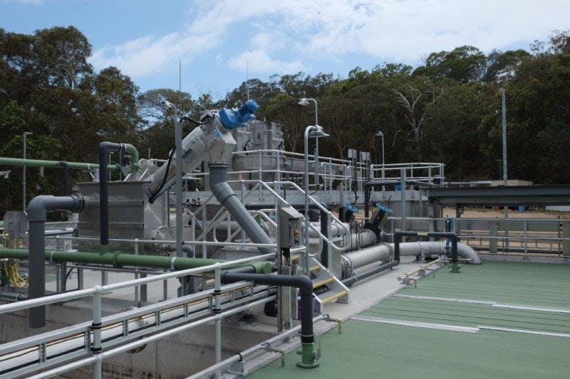 New WWTP at Point Lookout