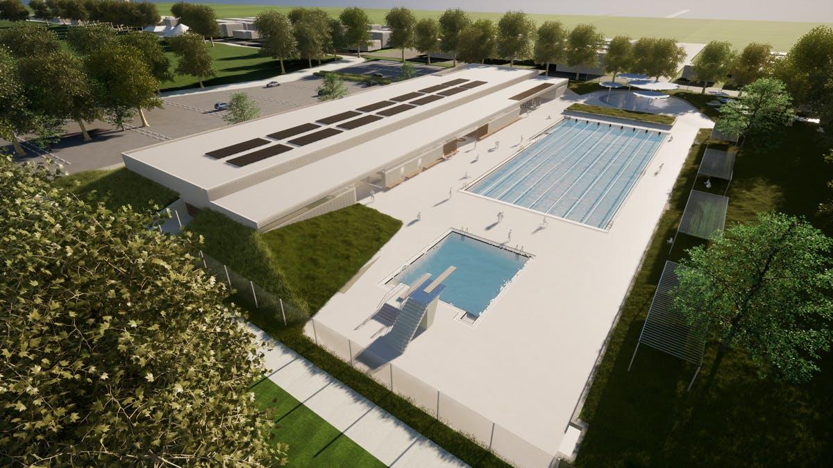Carnegie Swim Centre concept design