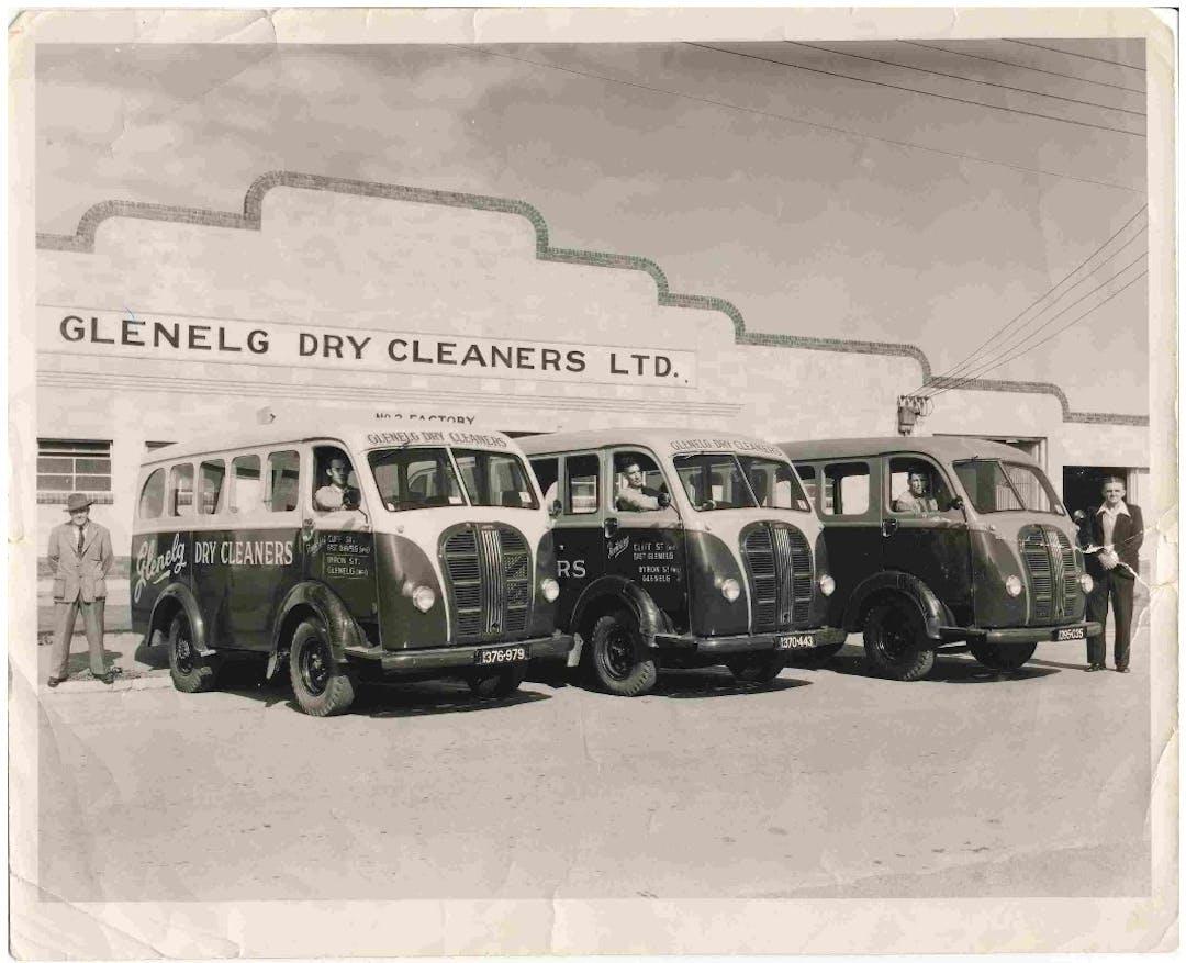 Glenelg Dry Cleaners circa 1960