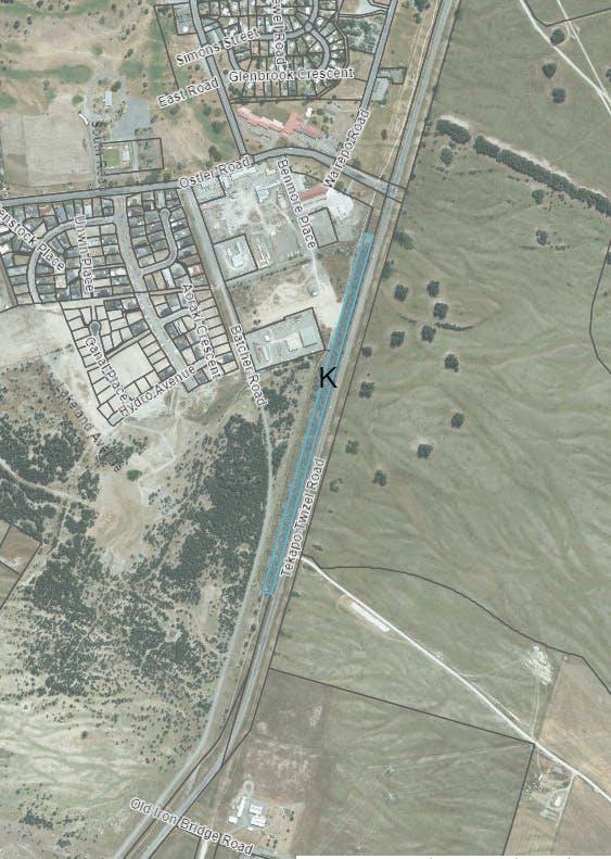Map 3 - SH8 - Area K