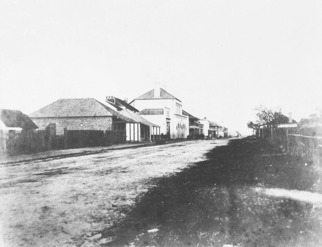 Hay Street looking East - 1860