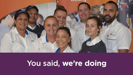 'Coz our people matter' recruitment campaign