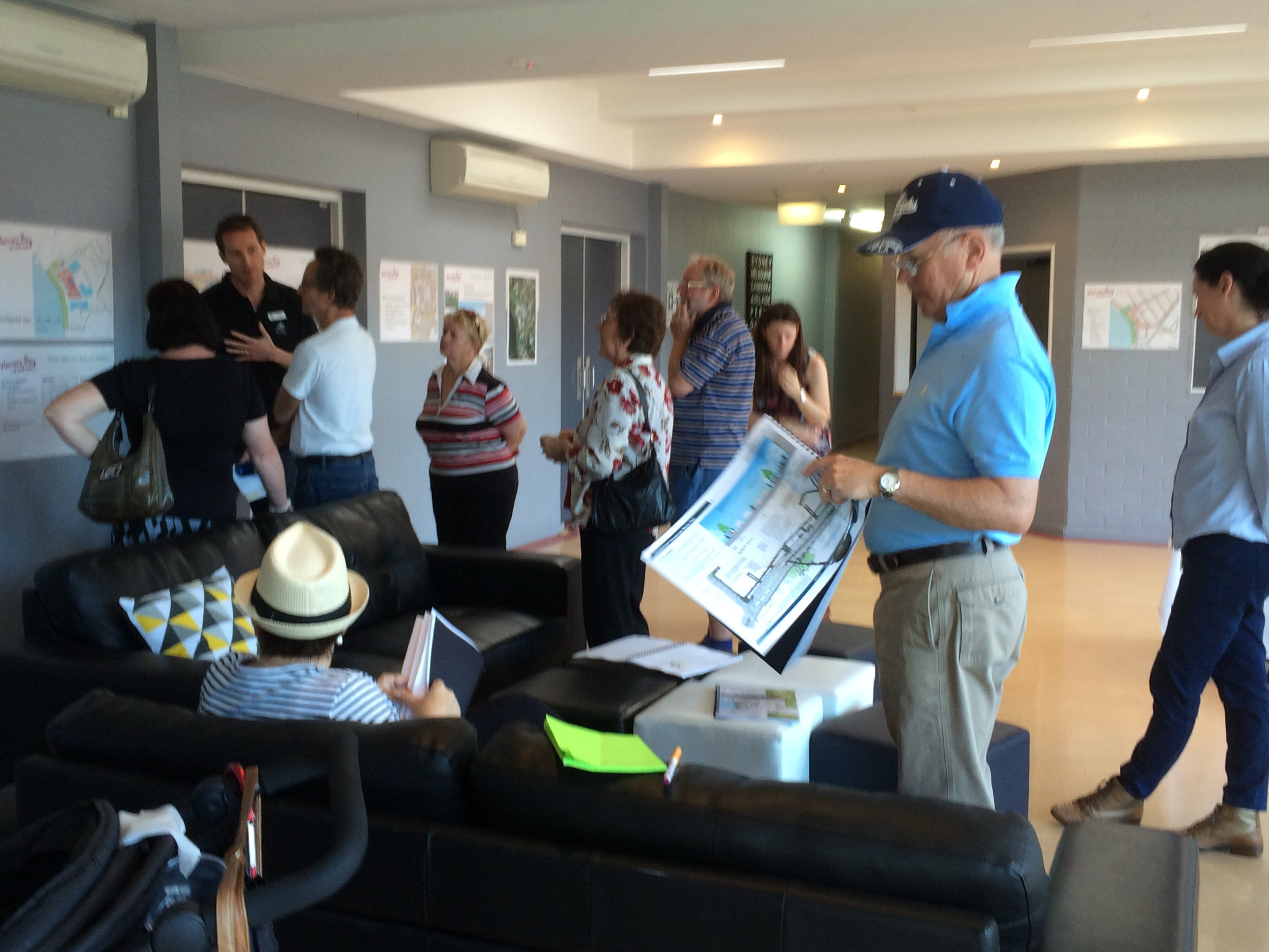 Learning more about Council's draft plans for Warners Bay