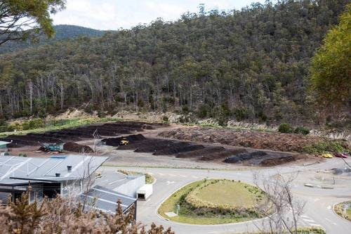 Mc Robies Gully Waste Management Centre   Birdseye View   By Alistair Bett