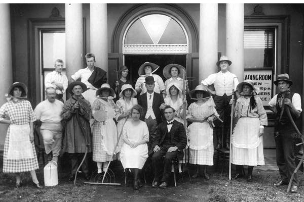 1922 The Haymakers - Choral Society 1st Musical Performance