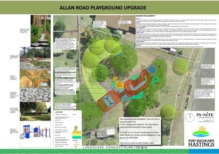 Allan Road Playground Upgrade
