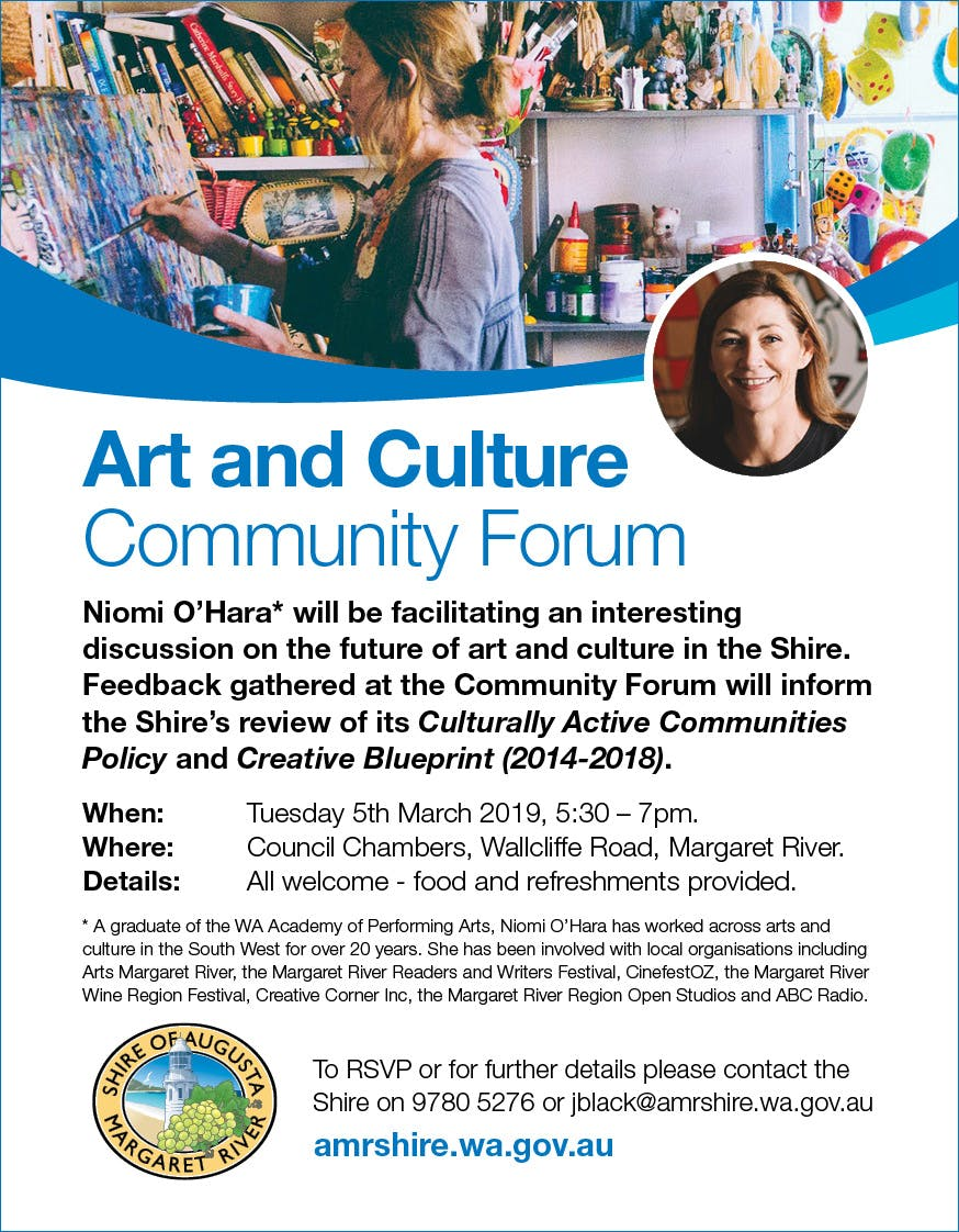 ShireAMR_ArtAndCultureCommunityForumPromotion