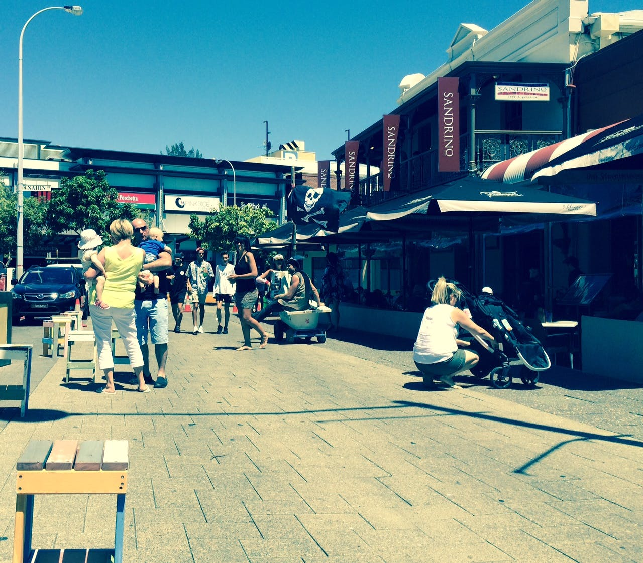 Market Street Piazza daytime