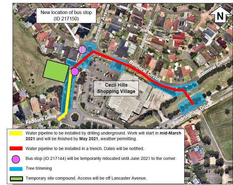 Cecil Hills - traffic changes Lancaster Avenue