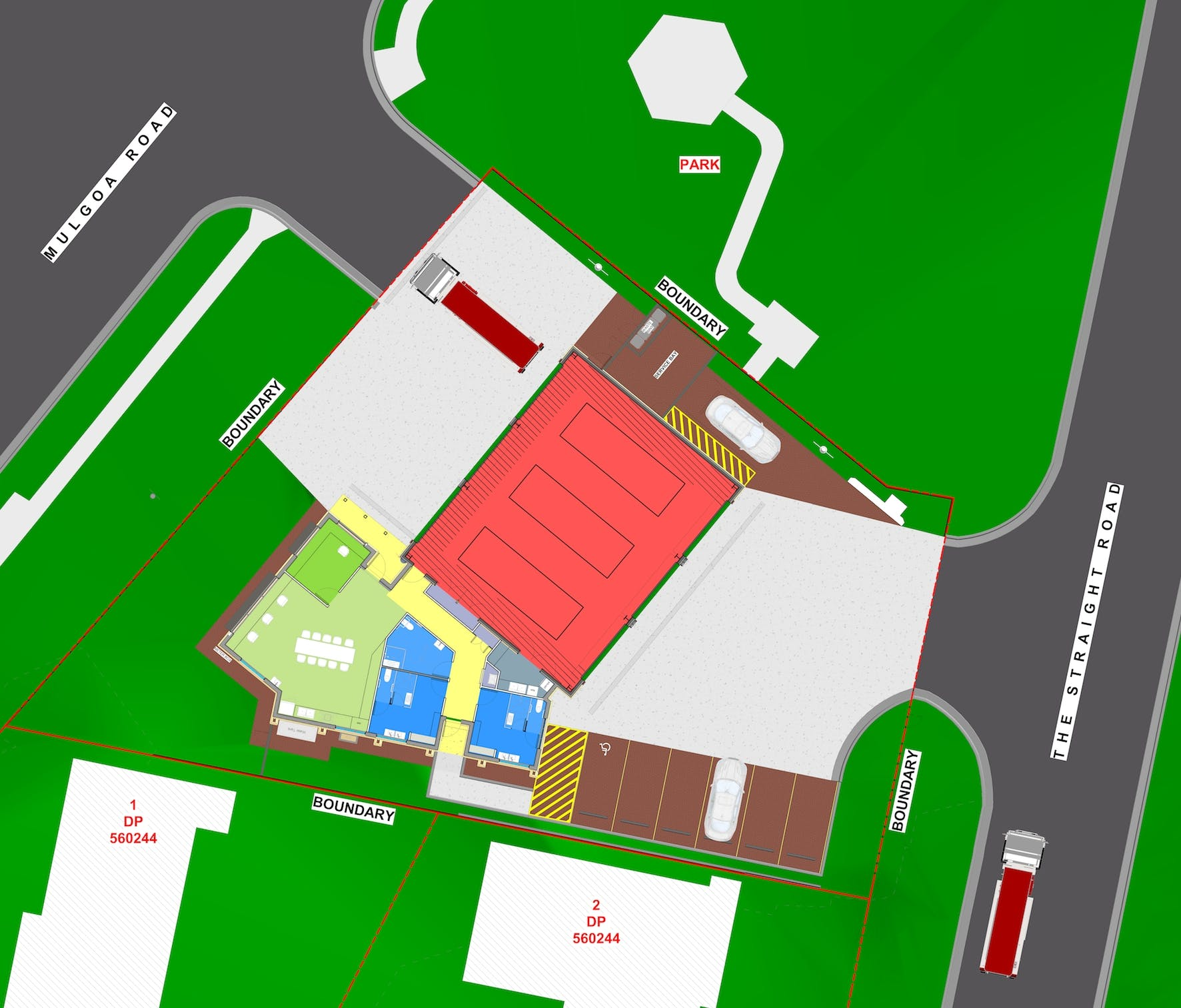 Mulgoa RFS Station Plan