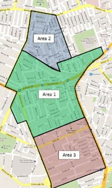Newtown/Enmore Parking Study Map