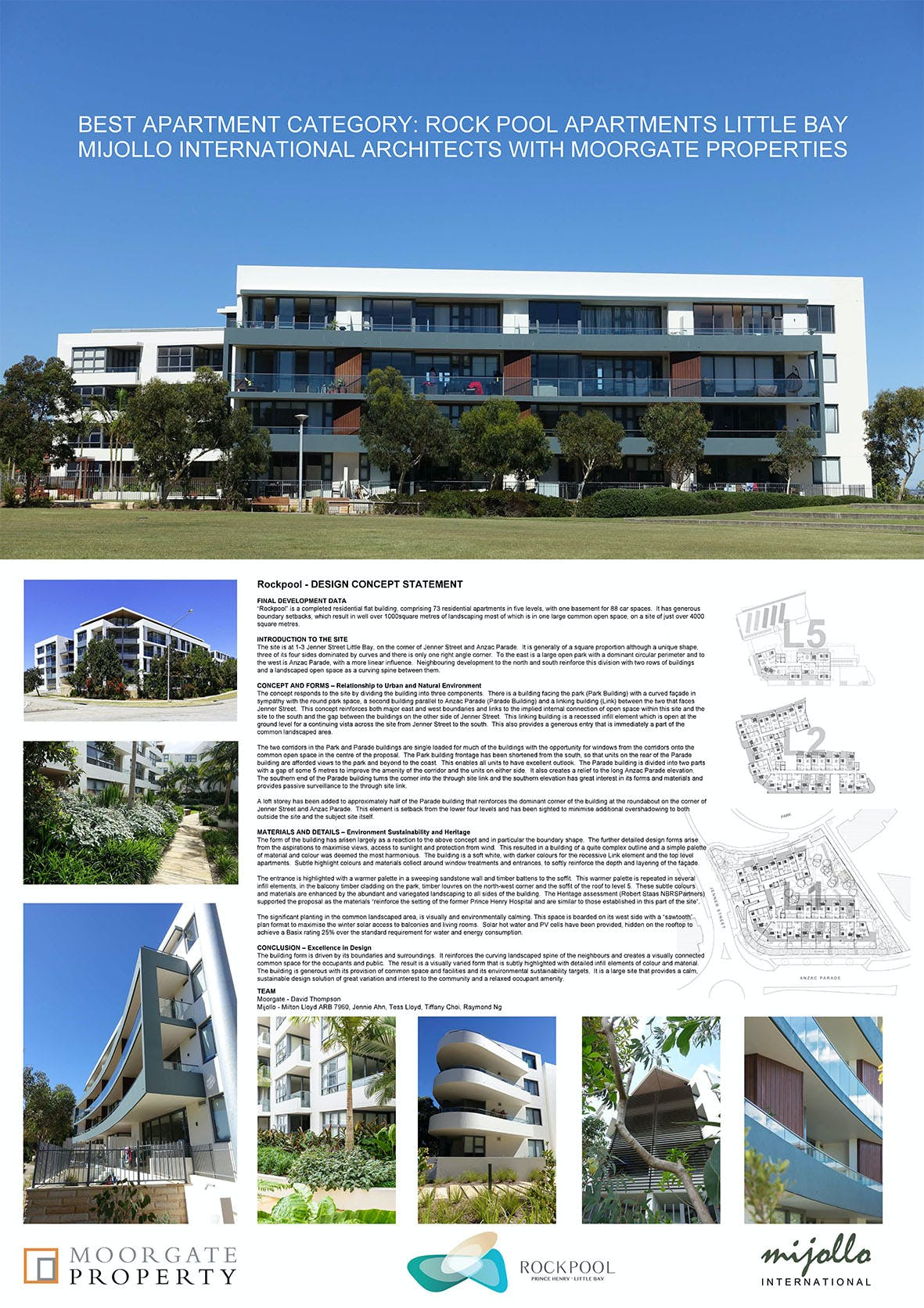 Rockpool Apartments Little Bay