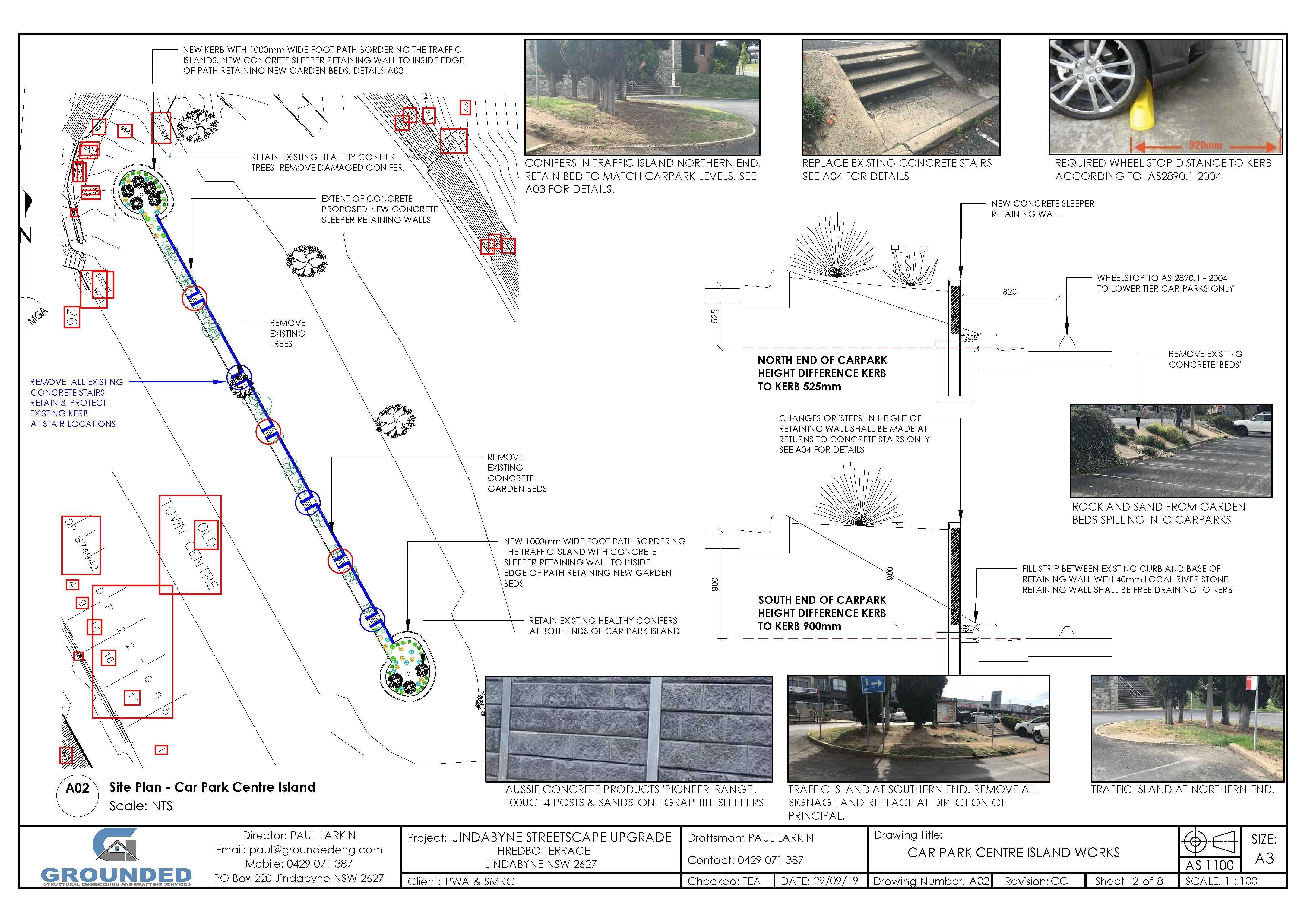 Jindabyne Streetscape Upgrade - Landscape Plans (002)_2