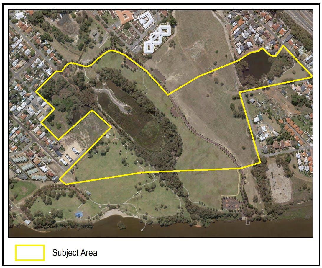 Proposed Amendment Location Aerial Map