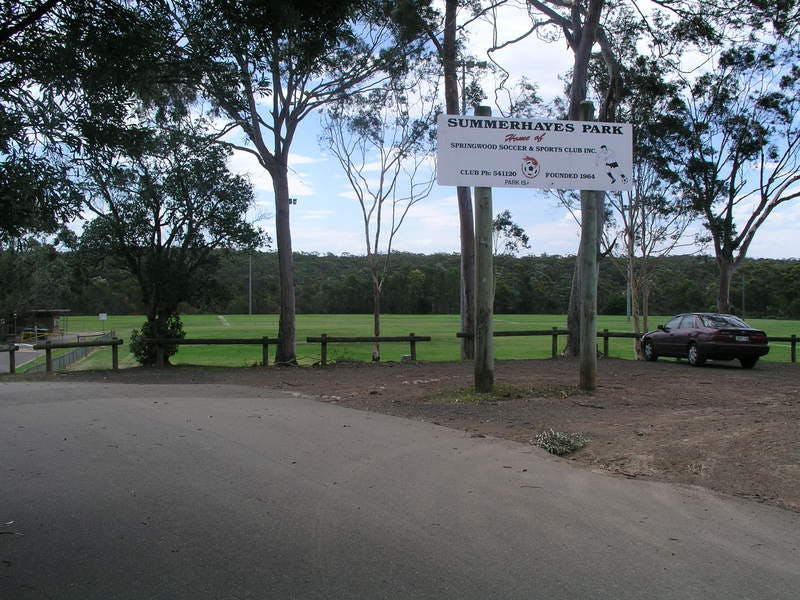 Summerhayes Park, Winmalee.  Many ovals with multiple clubs