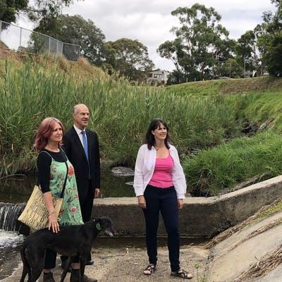 Visiting the Moonee Ponds Creek
