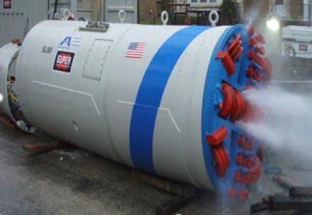 Microtunnel boring machine