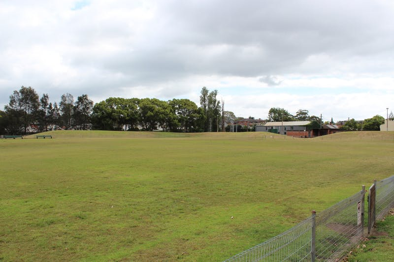 Camdenville Park playing field.