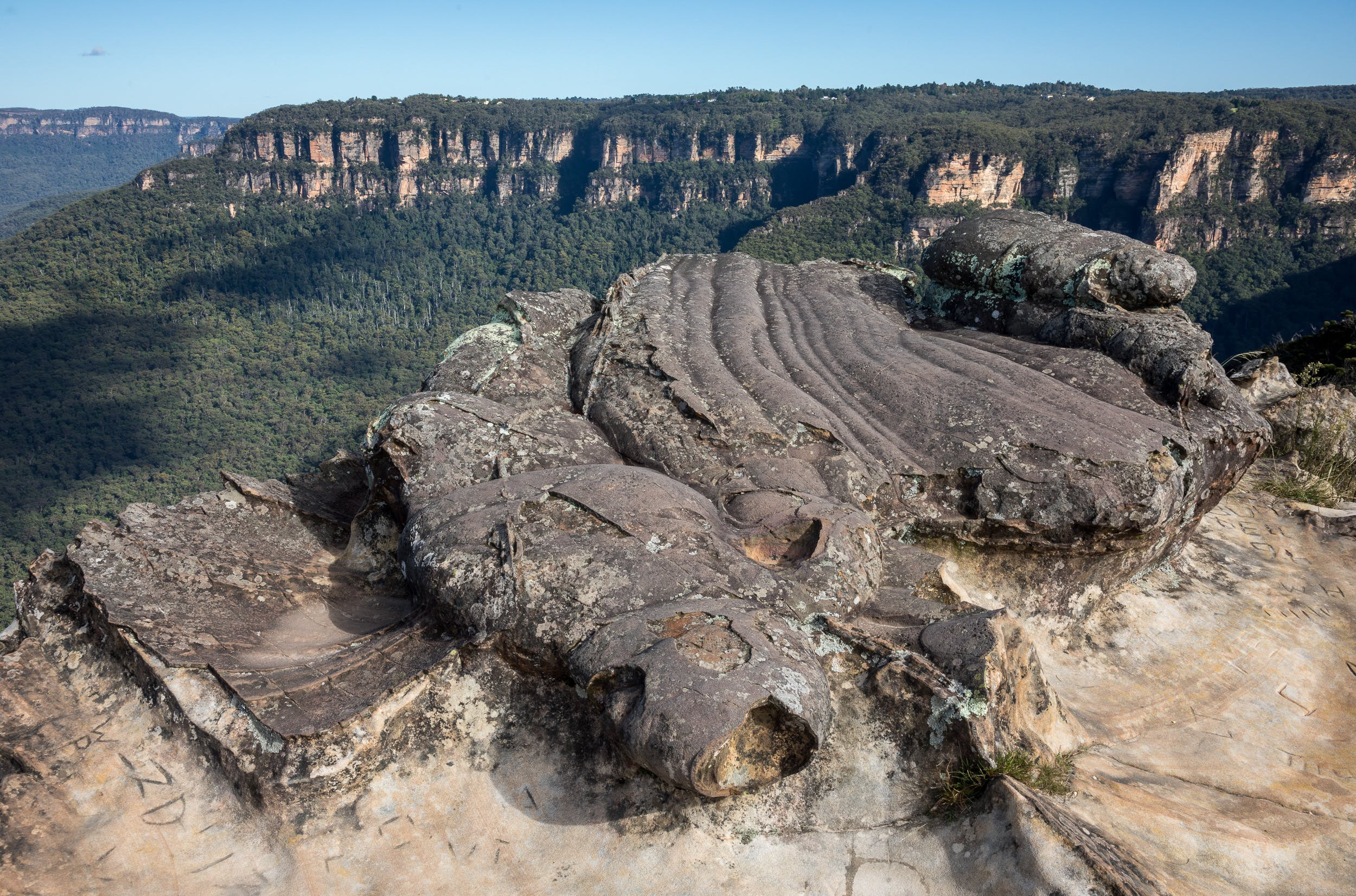 Lincoln's Rock Wentworth Falls