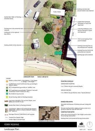 Ferry Reserve Landscape Plan Sheet Updated Small