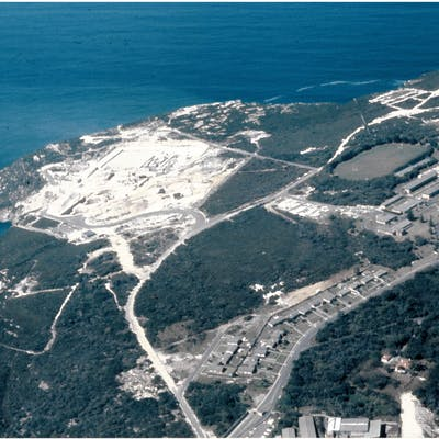 Construction of North Head WWTP