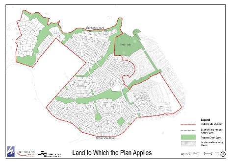 Land To Which The Plan Applies