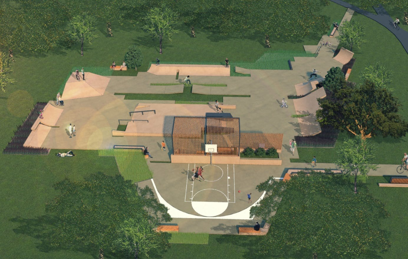 Concept Plan For Rushcutters Bay Park Youth Recreation Area 2