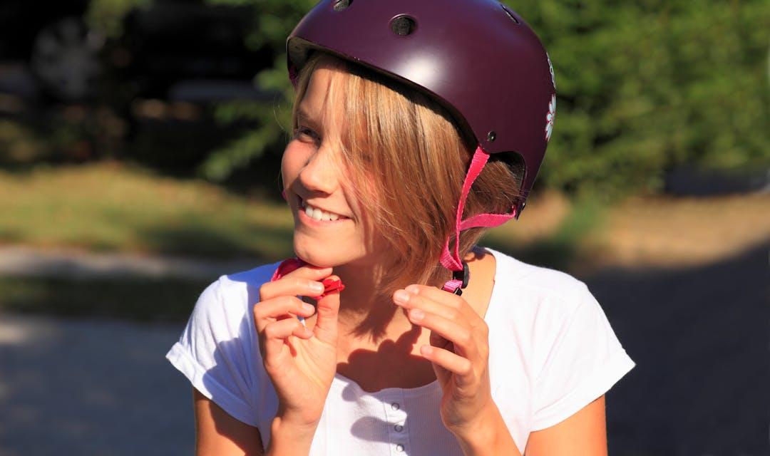 Skate park image skater girl