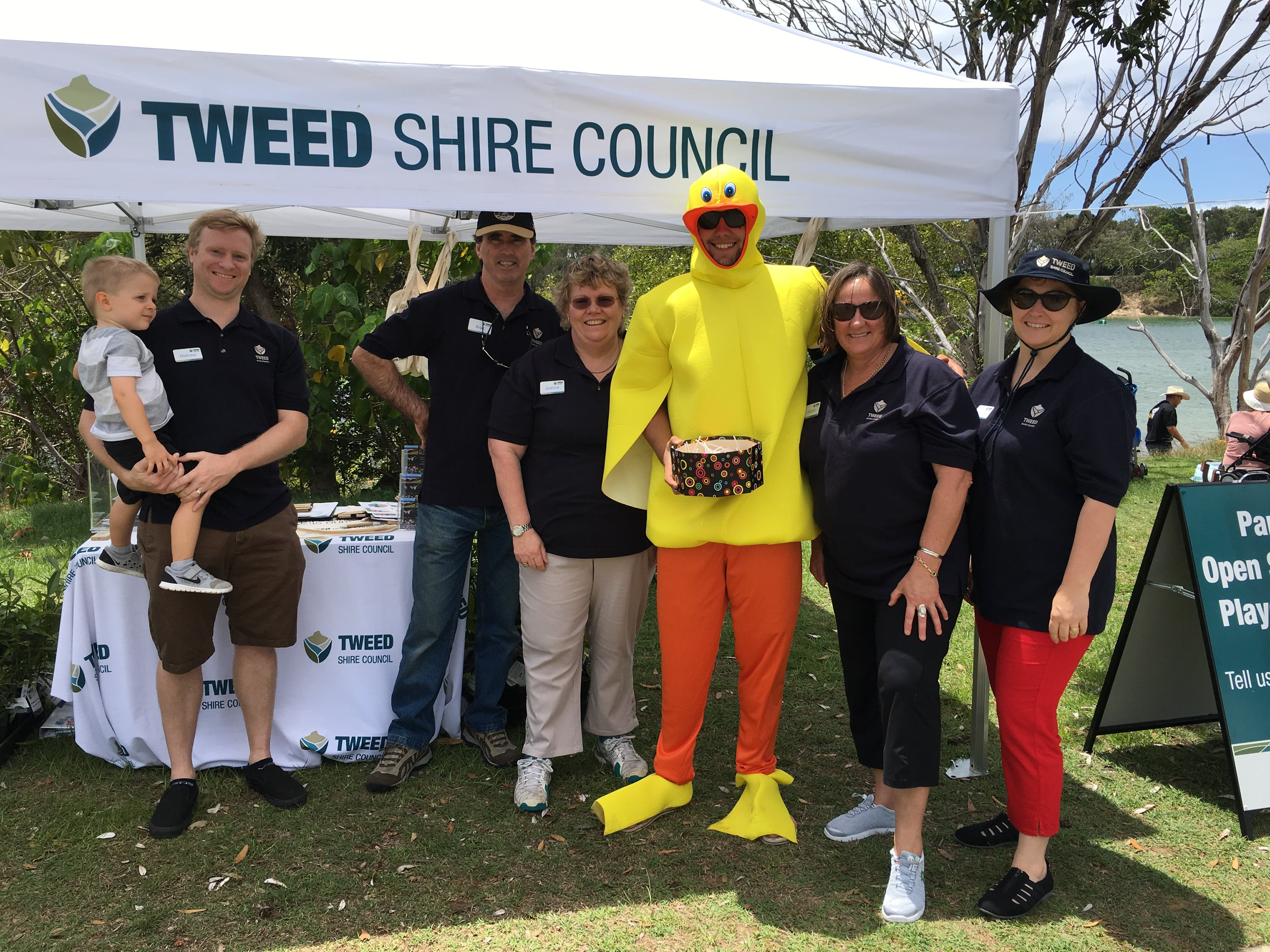 Community Engagement Network at the Rotary Duck Race