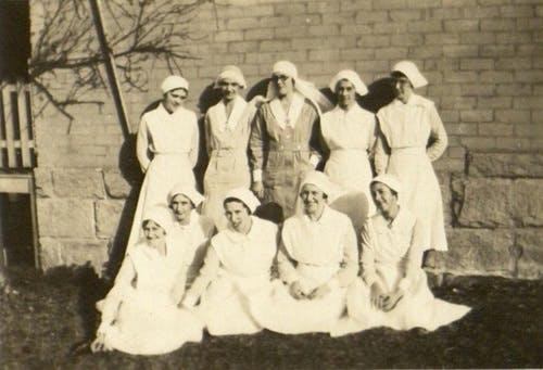 Marrickville Hospital Nursing Staff, c. 1935.