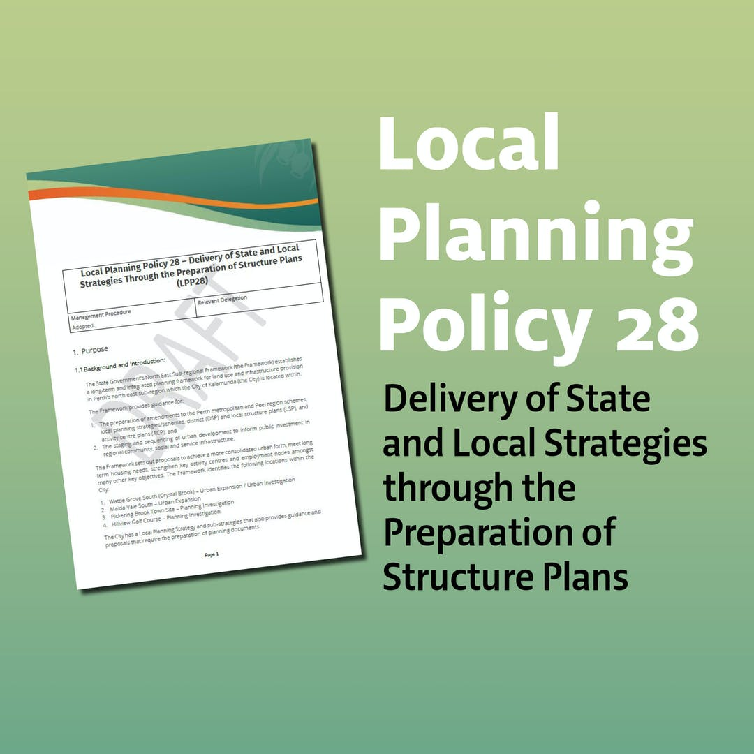 Local Planning Policy 28 (LPP28)