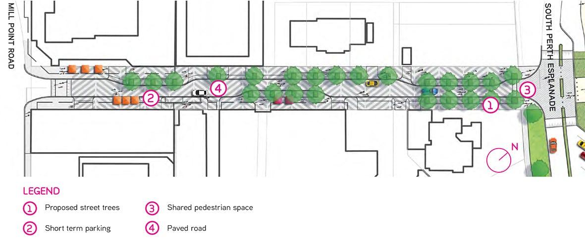 Harper Terrace Concept Design