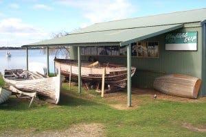 Alexandrina Council - Armfield Slip wooden boat heritage, Goolwa