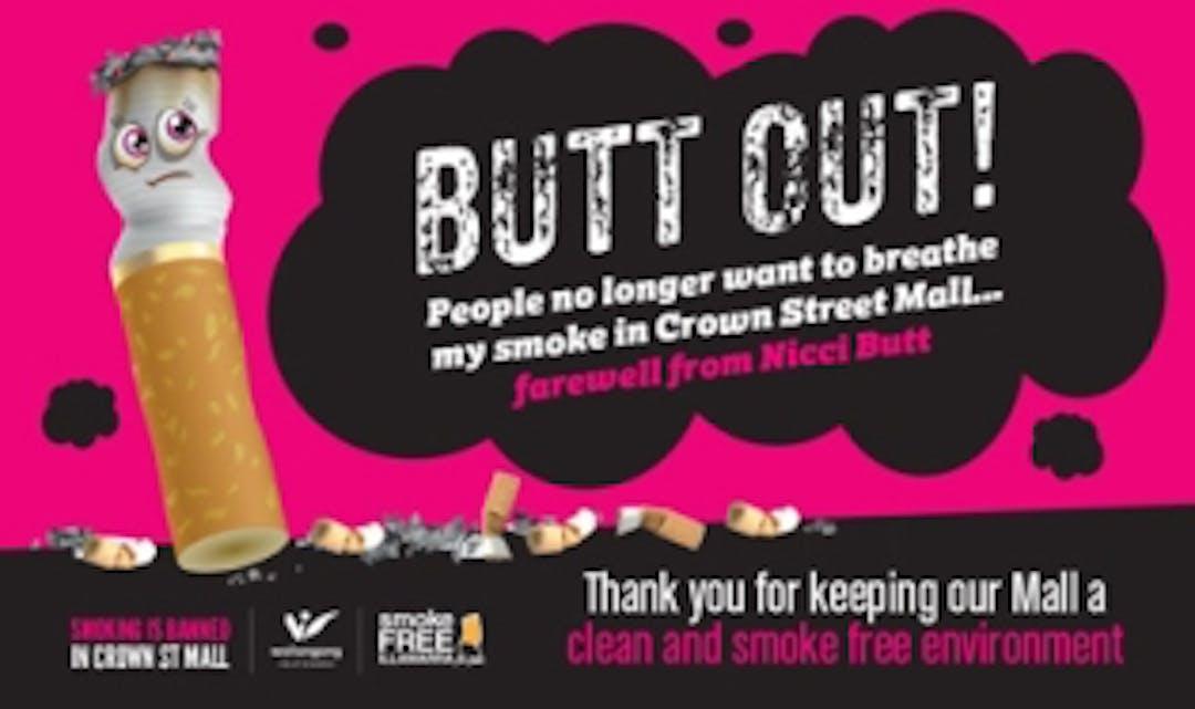 Smoke free nicci butt