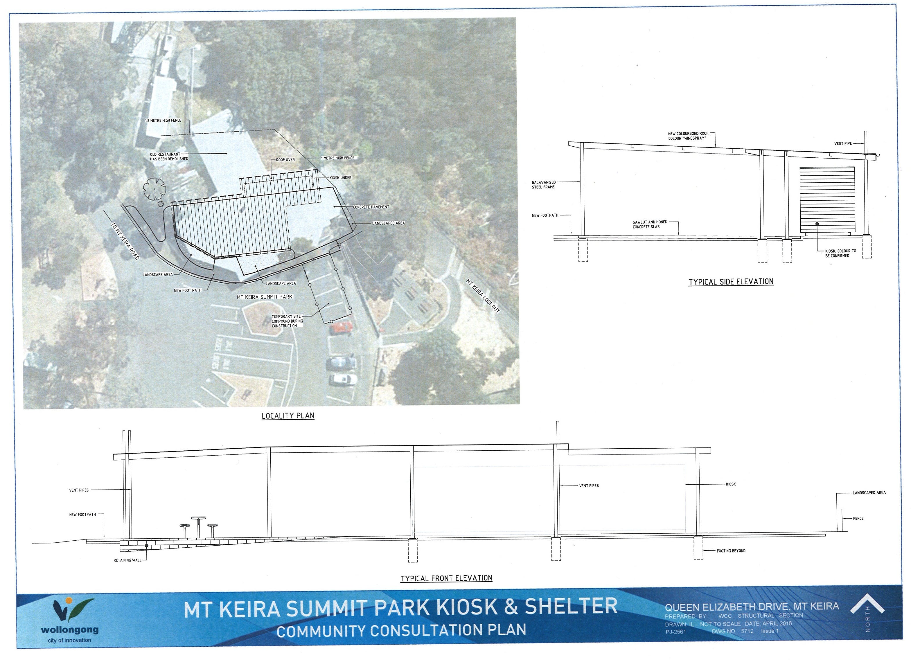 Kiosk And Shelter Plan