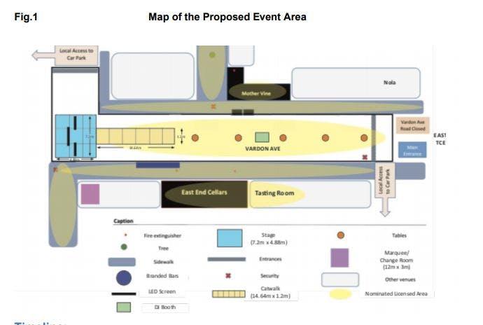 Map of 'Melbourne Cup on Vardon Avenue' event.JPG