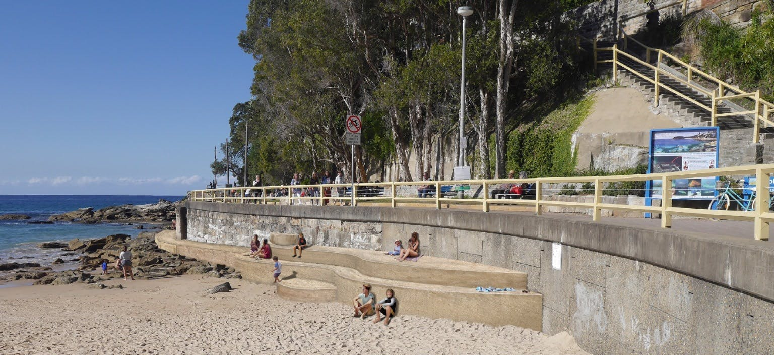 South steyne stormwater outlet webtile