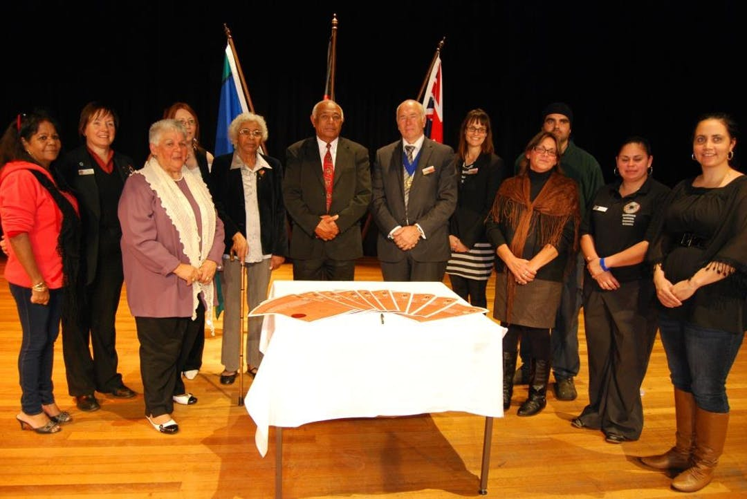 Signing of the Glenelg Aboriginal Partnership Agreement 2011-2020