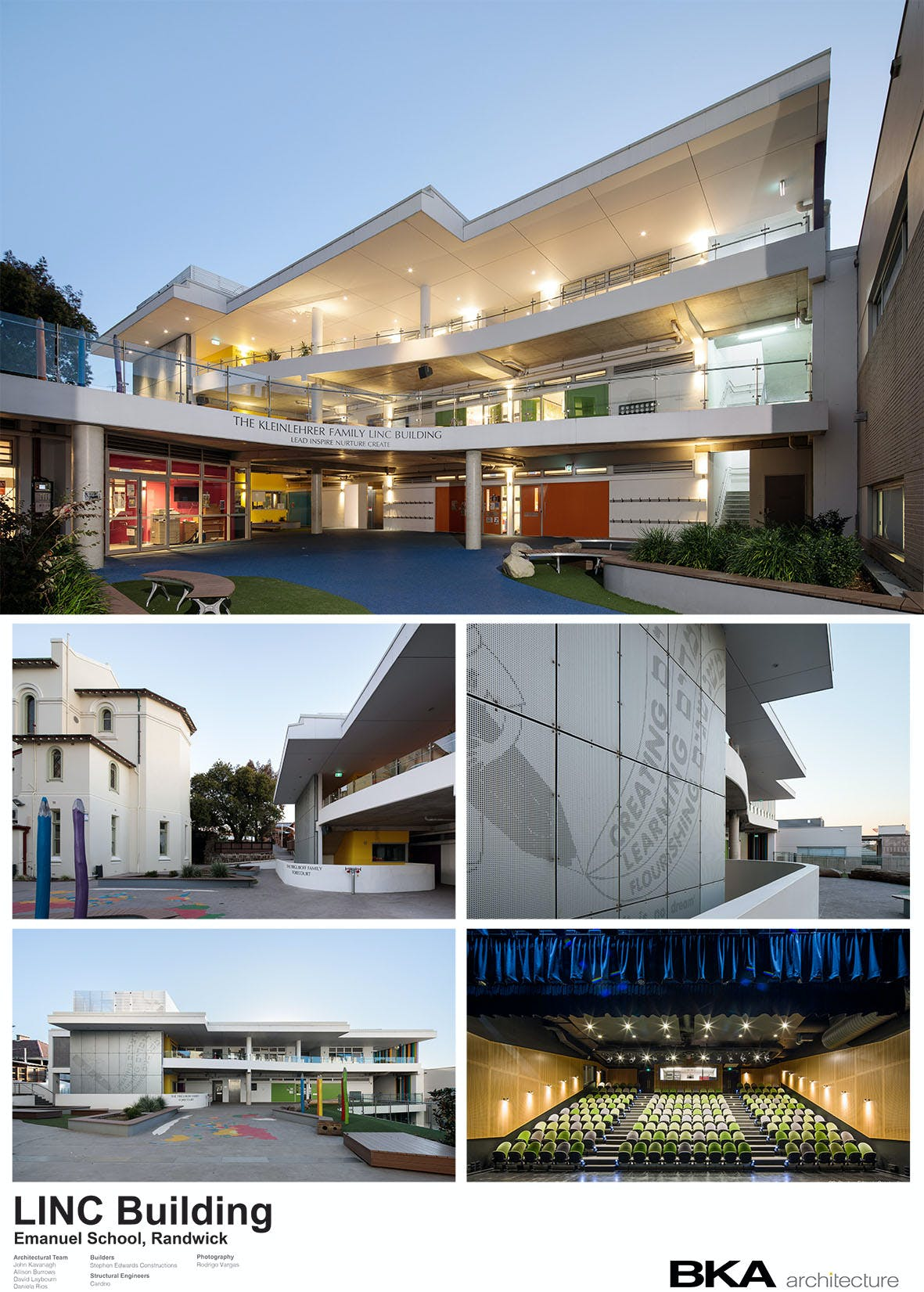 Linc Building Emanuel School
