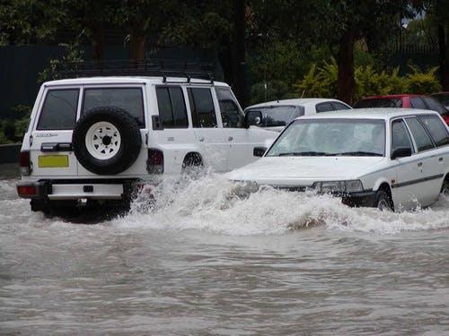 Alexandra Canal Flooding