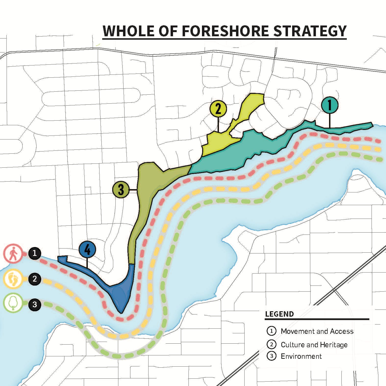 Draft Masterplan - Whole Of Foreshore Strategy